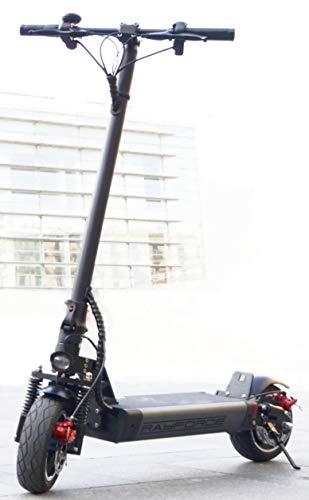 Rayforce PRO1 - Patinete Eléctrico Adultos 500W - Aluminio - Gran Potencia 48V/12.800mAh - hasta 50km de Autonomía - Spacegrey - Velocidad Máxima 40km/h - New Deluxe - Primavera 2021!!