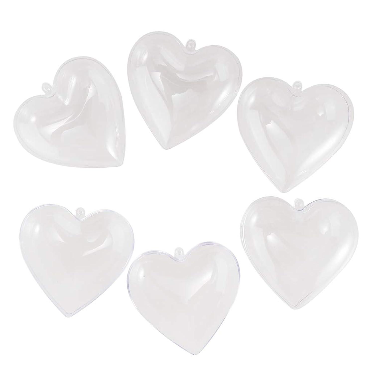 タワー週末チチカカ湖Perfeclan 10個 プラスチック製 透明 キャンディーボックス 装飾品 結婚式 クリスマス 2サイズ選べ - 8cm