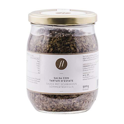 Feinkost Luigi - Trüffelsauce / Salsa mit 20% echten schwarzen Sommertrüffeln (500g)