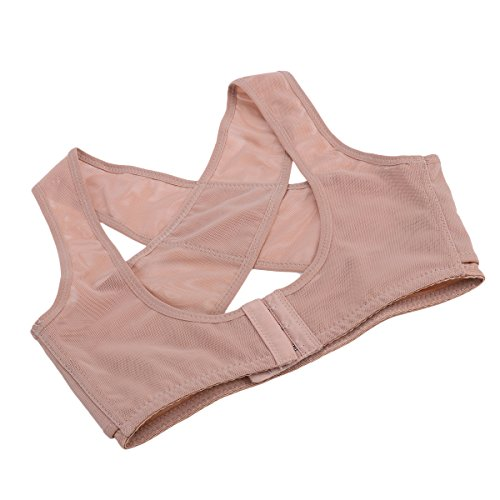 Healifty - Corrector de postura para hombros y espalda, para aliviar el dolor de espalda, cifosis y espalda, talla M para adultos (pequeño)