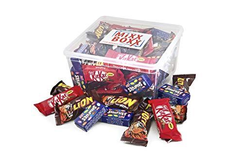 Mixxboxx Nestle Miniaturen - 855 gram - Lion mini, Smarties mini, KitKat mini - 50 stuks