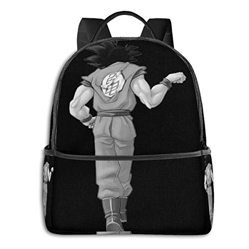 Anime & Goku,Best Friend (To Buy In Combo With Vegeta,Best Friend) Classic Student School Bag School Cycling Leisure Travel Camping Outdoor Backpack