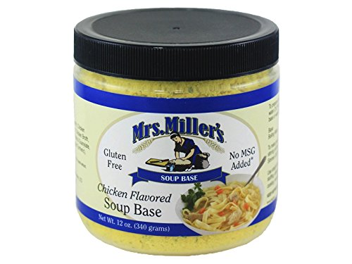 Mrs Millers Homestyle Chicken Soup Base 2 Jars / Gluten Free - No MSG