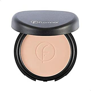 Flormar Compact Face Powder - 90 Medium Rose