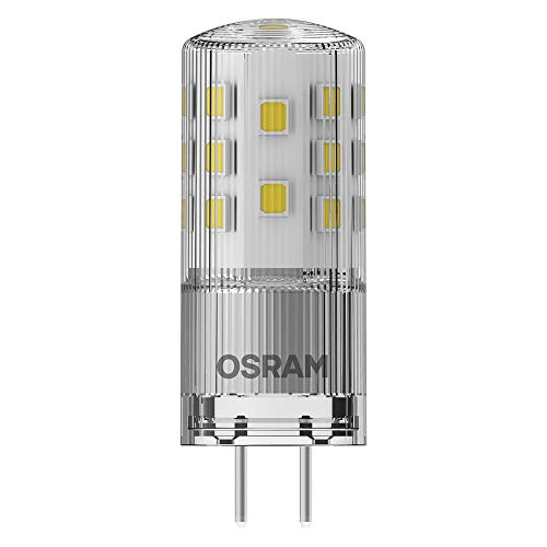 OSRAM LED Star PIN, Sockel: GY6.35, Nicht Dimmbar, Warmweiß, Ersetzt eine herkömmliche 35 Watt Lampe, Klar