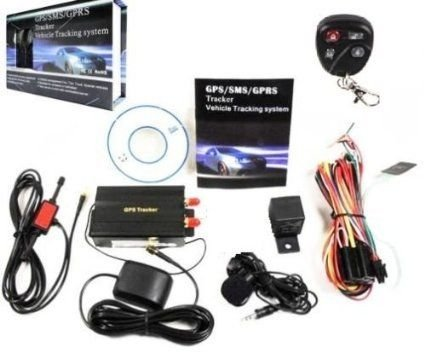 TK103-B TRACKER GPS/GSM/GPRS LOCALIZZATORE SATELLITARE ANTIFURTO AUTO MOTO