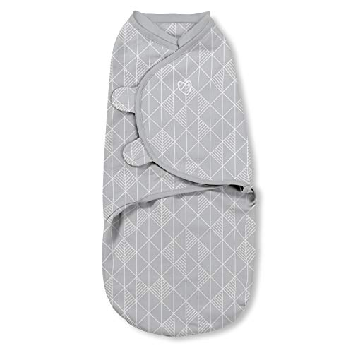 SwaddleMe Natural Position 2-in-1 Swaddle with Easy Change...