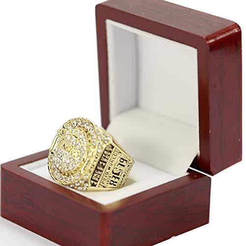 Basketball NBA 2010 Los Angeles Lakers Championship Ring Anello da Campionato Collezione Commemorativa Anelli da Uomo,With box,11