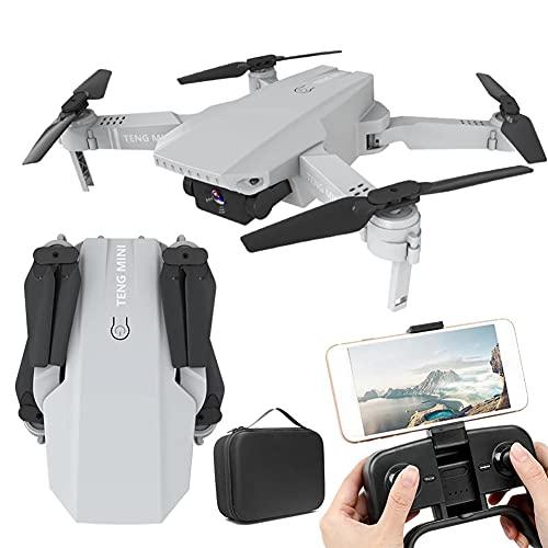 MAFANG Drone con 4K HD Telecamera FPV, Quadricottero WiFi con Tecnologia Flusso Ottico, modalità Segna E Traccia, modalità Senza Testa, Volo Circolare, Adatto A Bambini, Adulti E Principianti