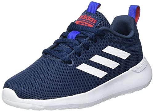 adidas Lite Racer CLN, Sneaker, Crew Navy/Footwear White/Vivid Red, 38 2/3 EU