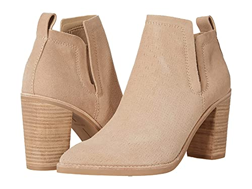 Dolce Vita Women's SIRANO Ankle Boot, Dune Suede, 9