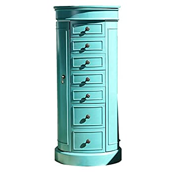 Hives and Honey Bailey Jewelry Armoire Turquoise
