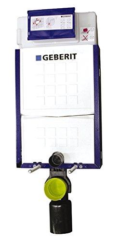 Geberit Montageelement Kombifix, 110300005, Nassbauelement, Unterputzelement für Wand-WC, Spülrohrbogen, PE-Abgangsbogen, Anschlussschlauch, Stahlkonstruktion, 21202 4