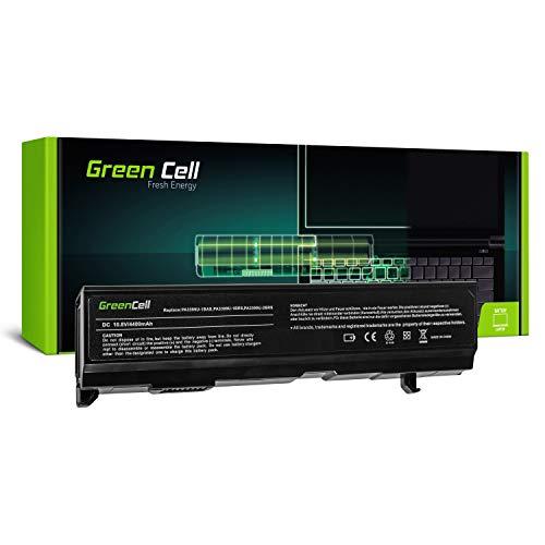 Green Cell Standard Serie PA3399U-1BRS PA3399U-2BRS Laptop Akku für Toshiba Satellite A100 A105 M40 M50 M100 Toshiba Equium A80 A100 (6 Zellen 4400mAh 10.8V Schwarz)