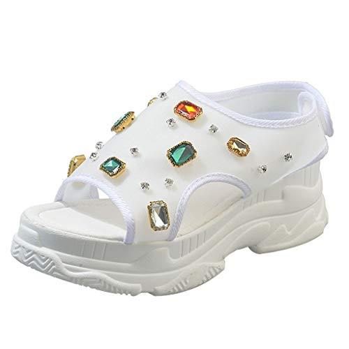 Vectry Zápatos De Mujer Balancin Zapatos Mujer Tacon Fiesta Zapatos De Mujer Planos Zapatos De Mujer Verano Sandalias Mustang Mujer Chanclas Crocs Mujer Zapatos Casual De Mujer Zapatos Blanco