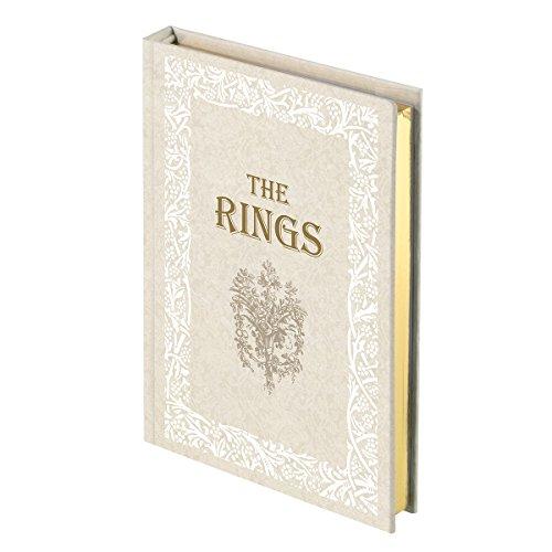 Lillian Rose White/Ivory Fairy Tale Storybook Ring Holder