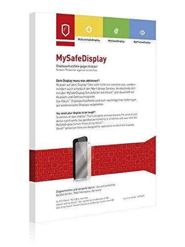 2x Vikuiti MySafeDisplay CV8 Displayschutz Schutzfolie für Tiger Smartwatch London (Ultraklar, strak haftend, versiegelt Kratzer)