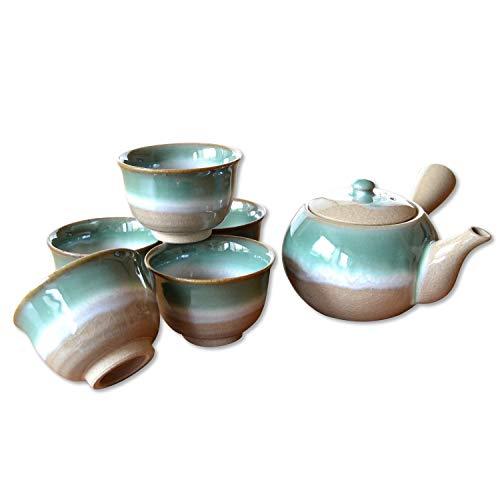 茶器セット 日本製 有田焼 日本茶 おしゃれ 晩秋 U急須茶器 陶器製