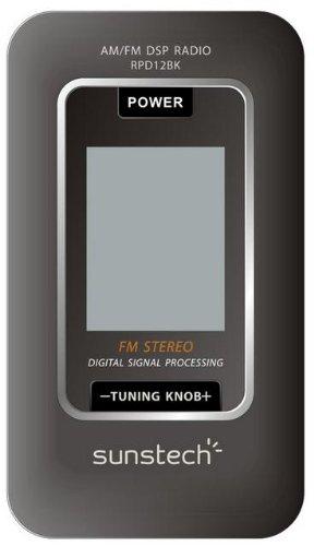 Sunstech RPD12 - Radio, color negro