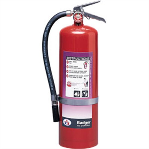 Badger Extra 10 lb Purple K Extinguisher w Wall Hook 23778 Fire Safety Detection