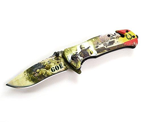 Army Rettungsmesser Albainox GOE mit FOS und 3D Print 8.2 cm Taschenmesser Klappmesser Messer Army