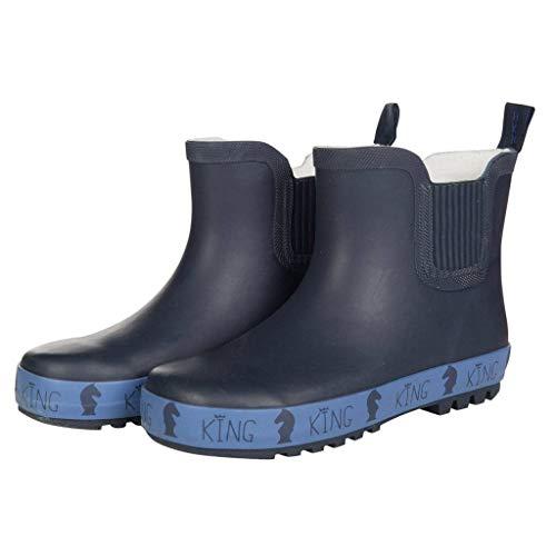 HKM Rubberen laarzen voor volwassenen -San Luis-6900 donkerblauw 28 broek, 6900 donkerblauw, 28