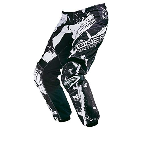 O'NEAL Herren Motocross Hose Element Shocker, Weiß, 32/48, 0124-6