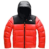 The North Face Youth Moondoggy 2.0 Down Hoodie Fiery Red