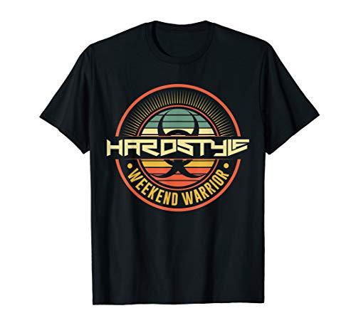 Hardstyle Weekend Warrior Rave Musik Funny Festival T-Shirt