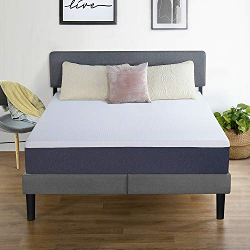 PrimaSleep Modern 10 Inch Air Flow Gel Memory Foam Comfort Bed Mattress,Pressure Relieving (Queen)