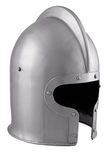 Battle-Merchant Barbuta Helm, 1,6mm Stahl - Mittelalter - LARP