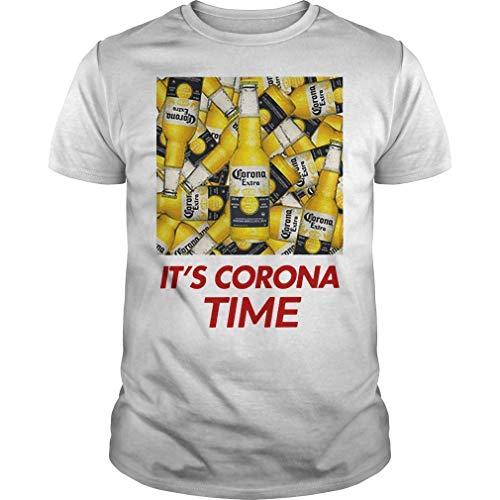 MIDELL150720a601 PA - Camiseta Negro Camiseta de la hora de Corona S