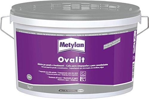 Metylan 11141 Ovalit T kg.5, Bianco