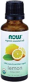 Now Foods Lemon Organic Bath Oils, 30 ml