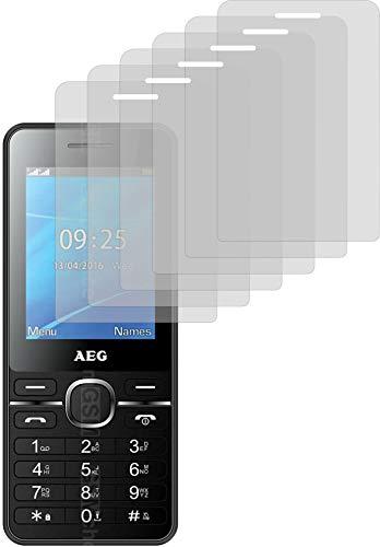 4ProTec I 6X Schutzfolie MATT passexakt für AEG Voxtel M1250 - Displayschutzfolie Schutzhülle