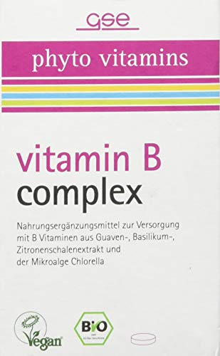 GSE Vitamin B Complex (BIO), 60 Tabletten, 1er Pack (1 x 30 g)