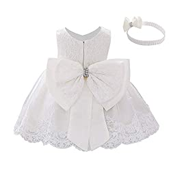 White Color Tutu Dress With Rhinestones for Baby