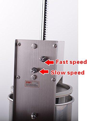 Hakka 11 Lb/5 L Sausage Stuffer 2 Speed...