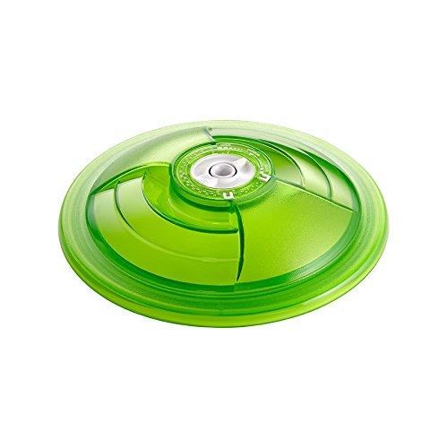 vacSy Universaler Vakuumier Deckel für Frischhaltedosen von ø 20cm - Ersatzdeckel für Frischhaltebehälter