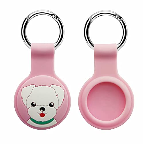 AirTag Finder with Apple AirTag Case for AirTag Keychain (2021),Loop with Key Ring for Dog/Bag/Luggage/Key Finders 9