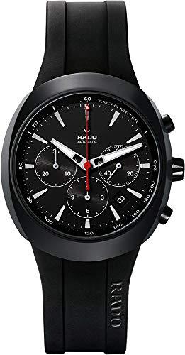 Rado R15378159 - Reloj de Pulsera Hombre, Caucho, Color Negro
