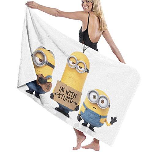 Minions - Toallas de mano para baño, toallas decorativas para baño, mano, gimnasio, spa