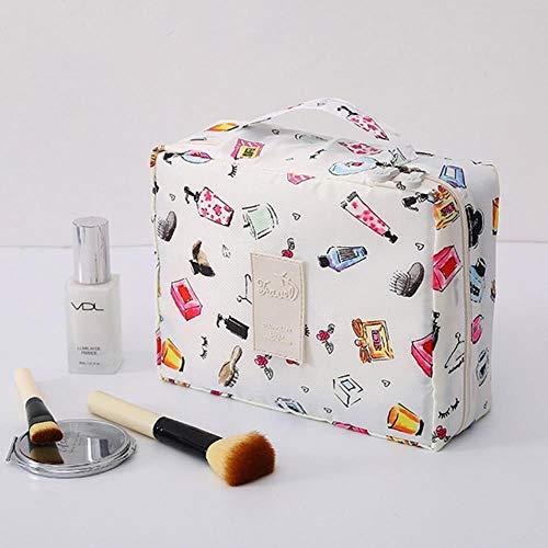 WDBZD Voyager Femmes Maquillage Sacs Hommes Femmes Cas cosmétique Sac cosmétique de Lavage Stockage Portable Tour opérateurs Pack Sacs de Toilette,H4