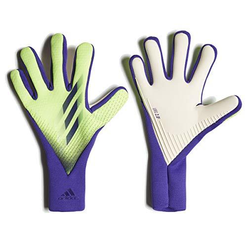 adidas Unisex-Adult X Gloves ProSignal Green/Energy Ink10