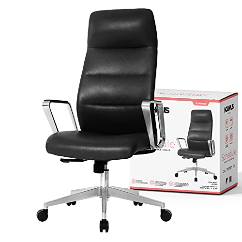Nouhaus Schedule. The Simple Modern Office Chair. Work, Home Office Chair and Study Chair. Cute Desk Chair, Teen Executive Chair (Black)