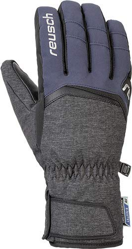 Reusch Balin R-TEX XT Handschuh, Black Melange/Dress Blue, 8