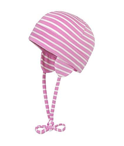 Döll Unisex Baby Bindemütze Jersey Mütze, Rosa (fuchsia pink 2023), (Herstellergröße: 49)