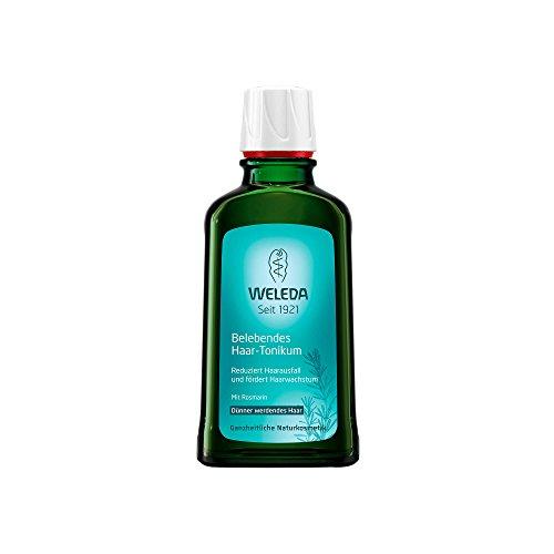 WELEDA Belebendes Haar-Tonikum, Naturkosmetik Haar-Tonikum zur Vermeidung von Haarausfall und Förderung von Haarwachstum, Pflege für kräftiges Haar und eine gesunde Kopfhaut (1 x 100 ml)