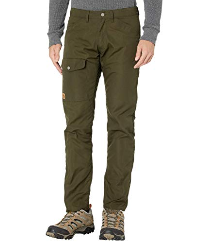Fjallraven Herren Greenland Jeans M Reg Sport Trousers, Deep Forest, 54