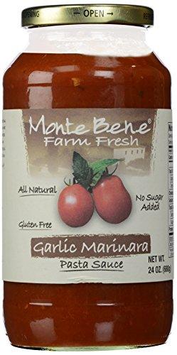 Monte Bene Garlic Marinara Pasta Sauce, 24 oz